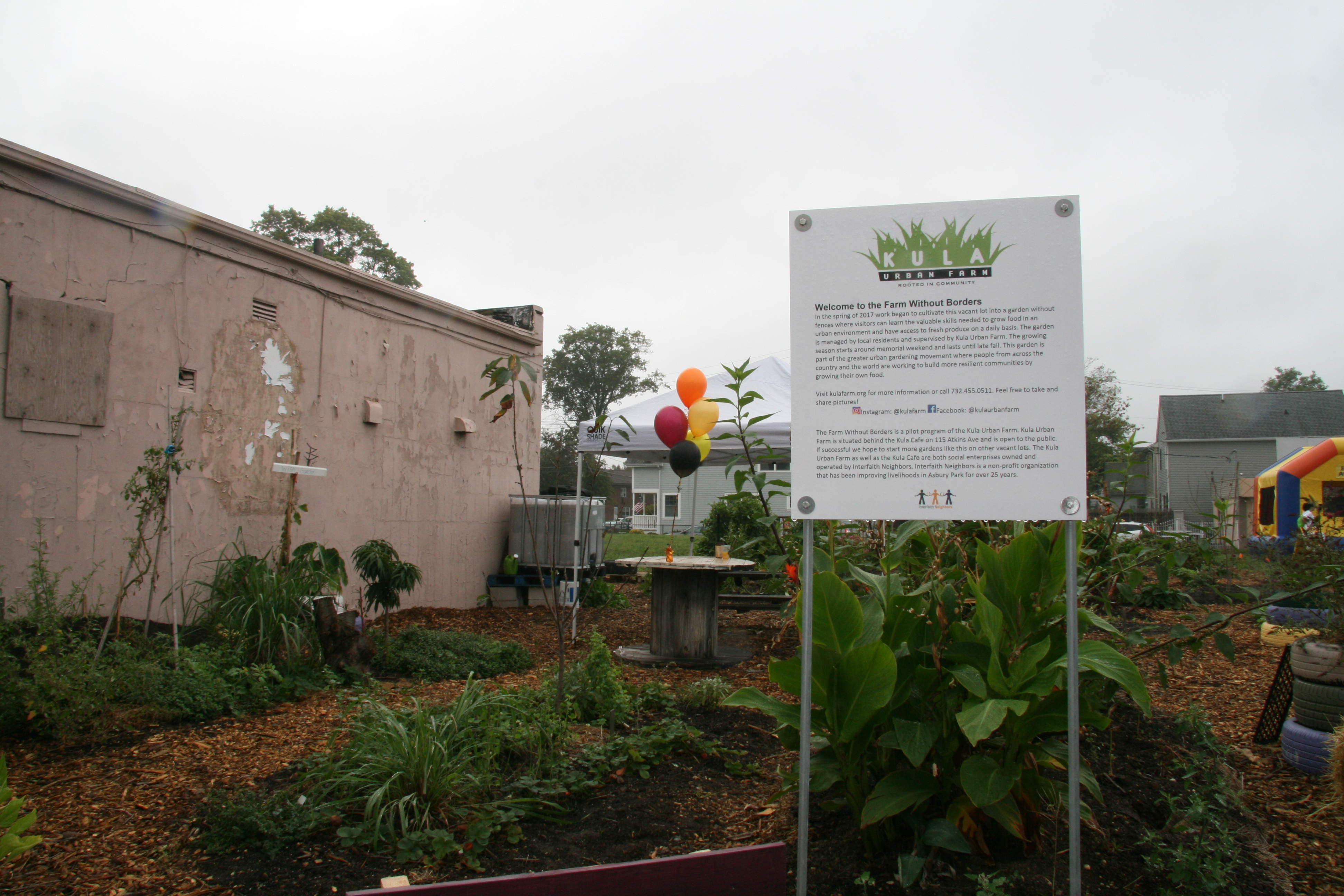 Kula Urban Farm's New Farm Without Borders On A Formerly Vacant Lot