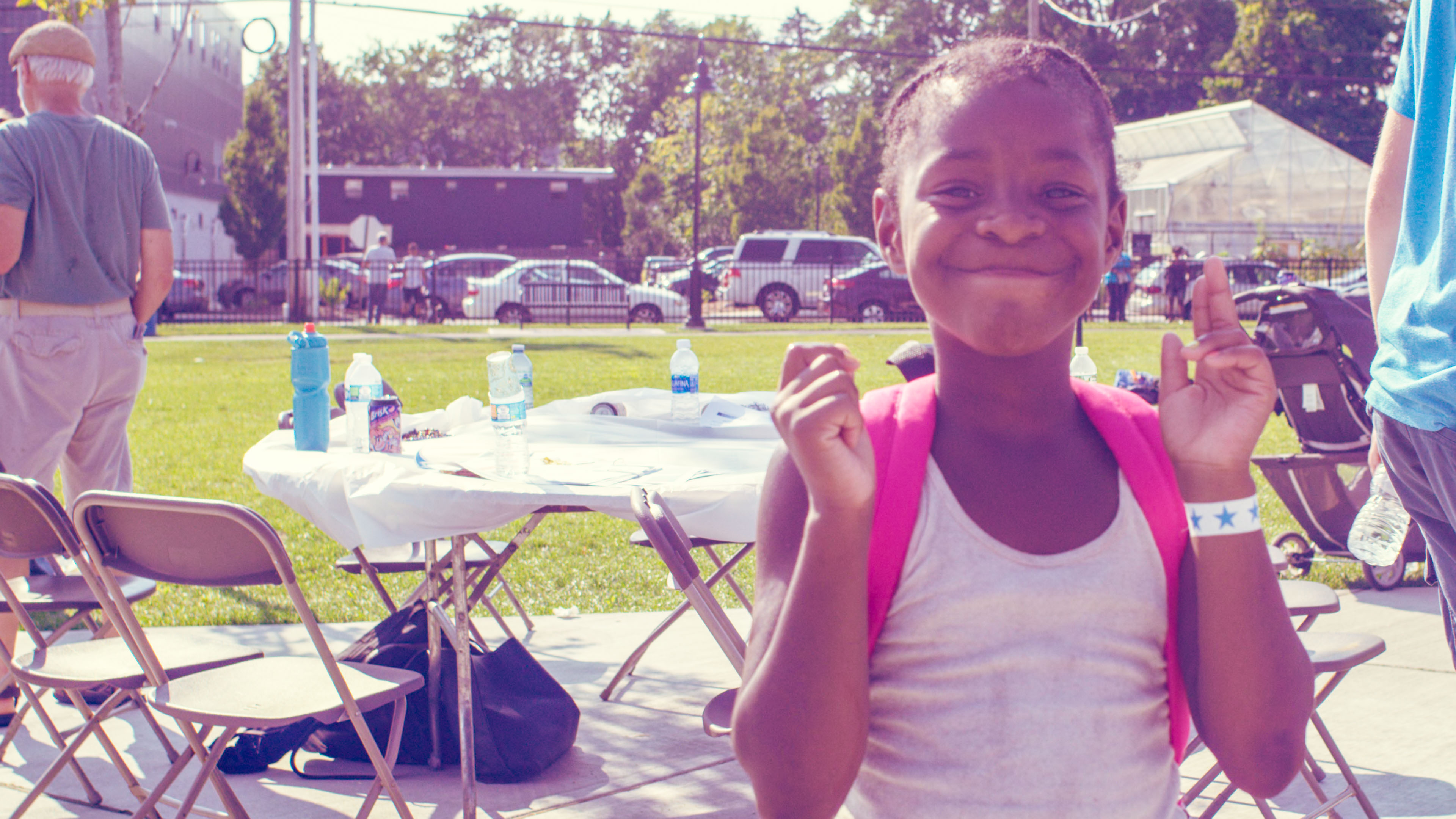 Blue Bishop Community Outreach Day. Credit: Cerrone Photo