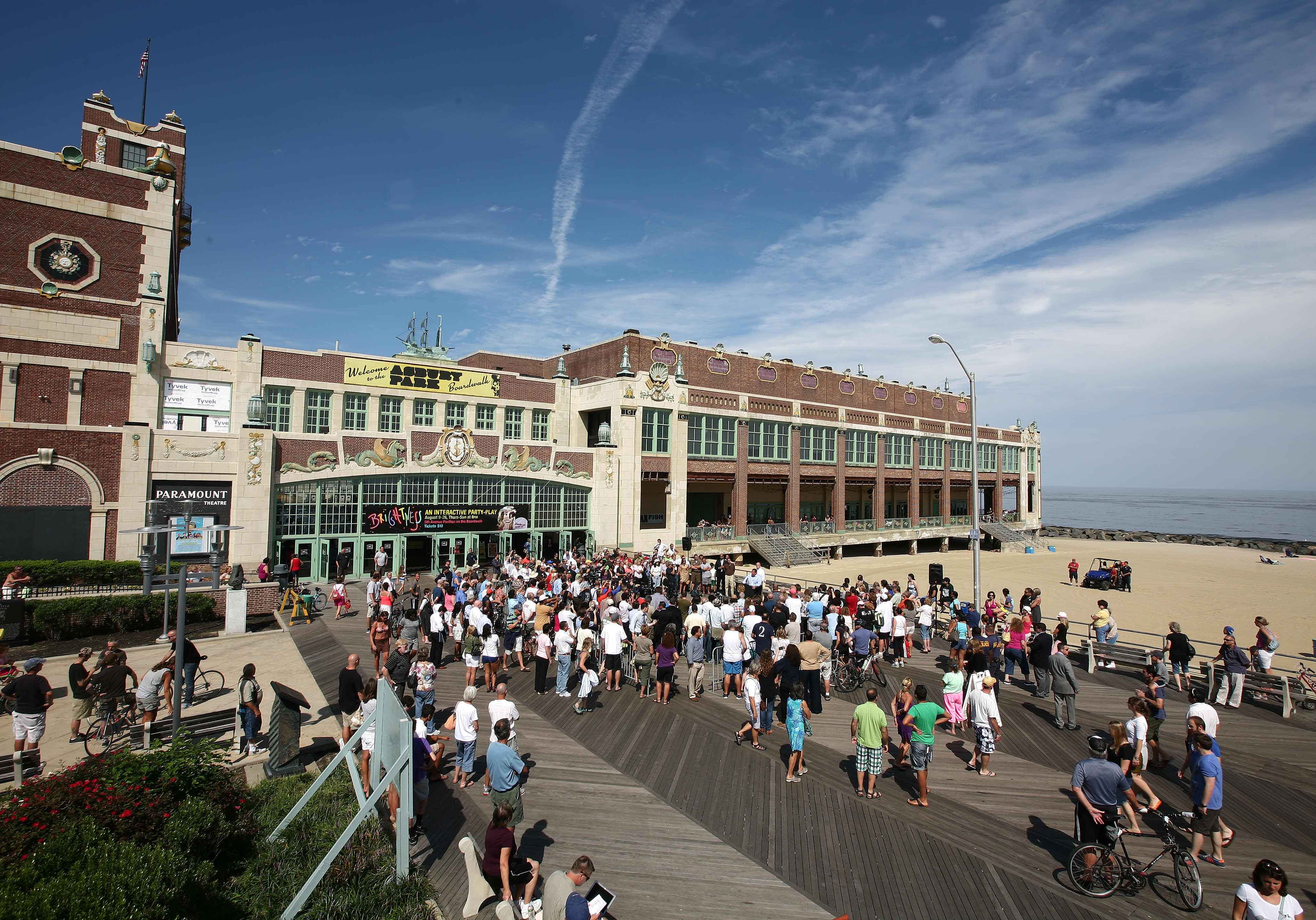 The Asbury Park Boardwalk. Credit: State Of The Arts