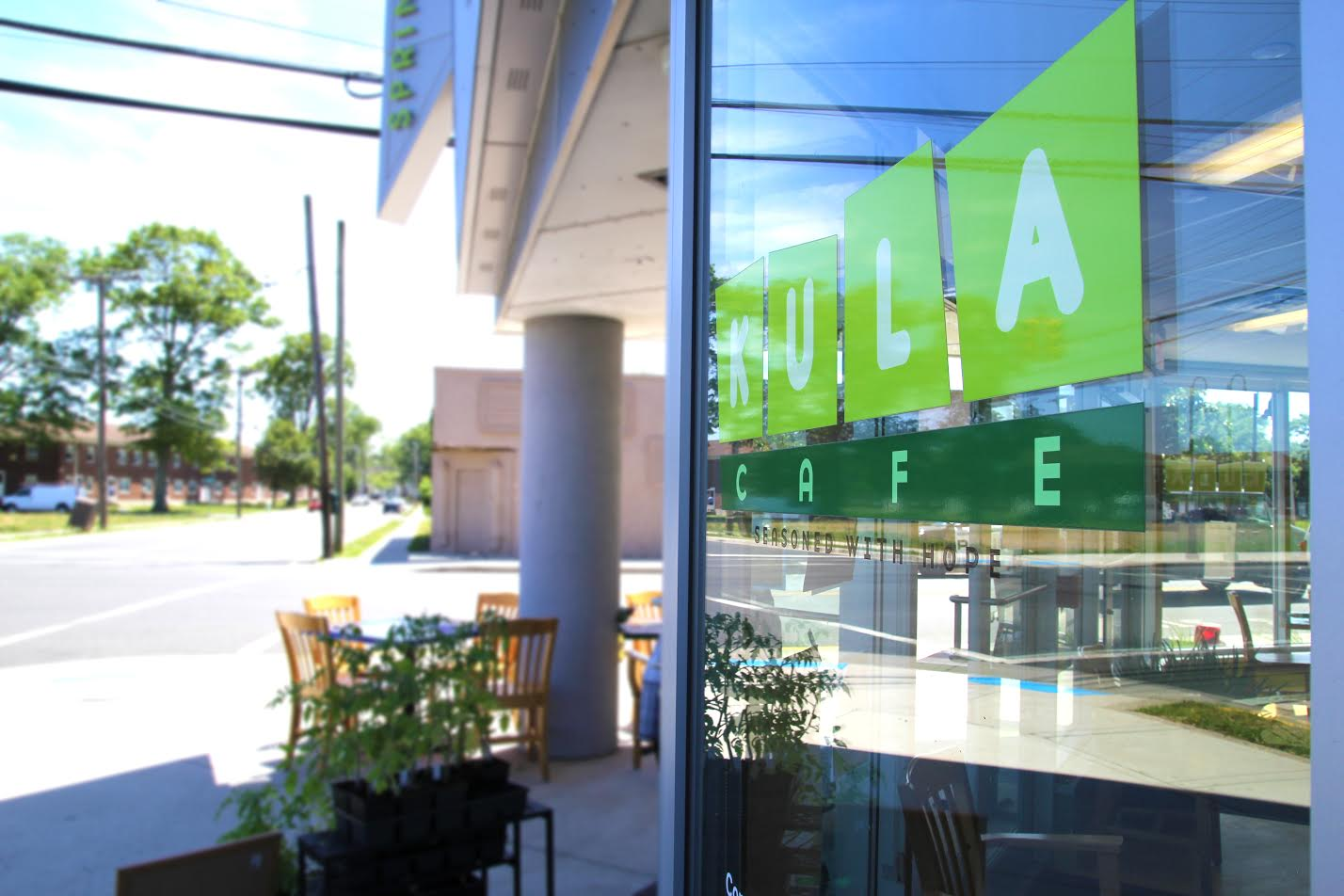Kula Cafe Occupies Part Of The Springwood Center's First Floor And Serves Food Sourced From Kula Urban Farm
