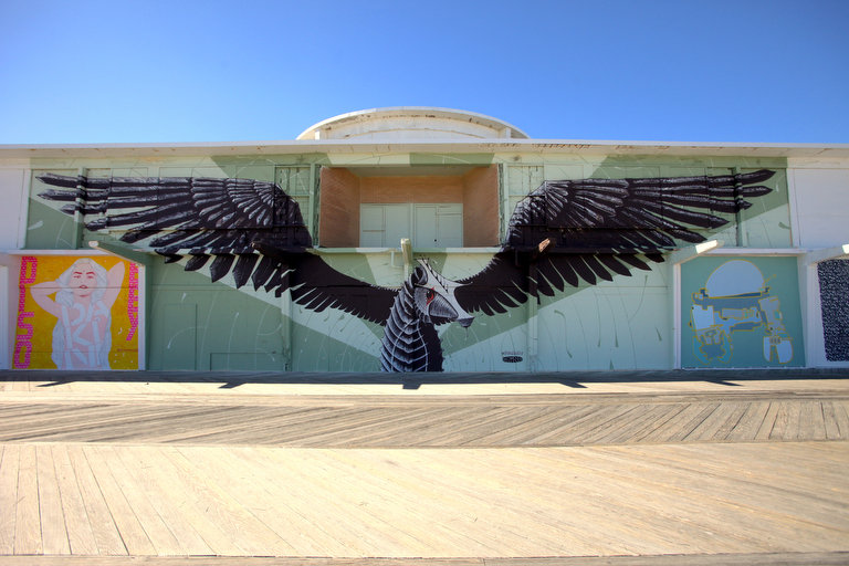 One Of Many Murals That Dot The City. Credit: Bobby Olivier