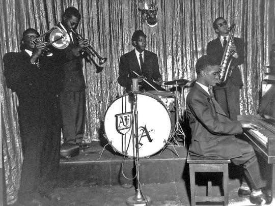 Sammy Pugh And His Band Play On The West Side In The Mid-20th Century