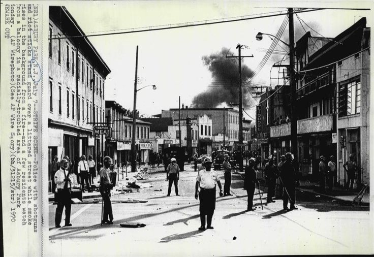 The West Side Was Badly Damaged By Race Riots In 1970. Credit: Associated Press