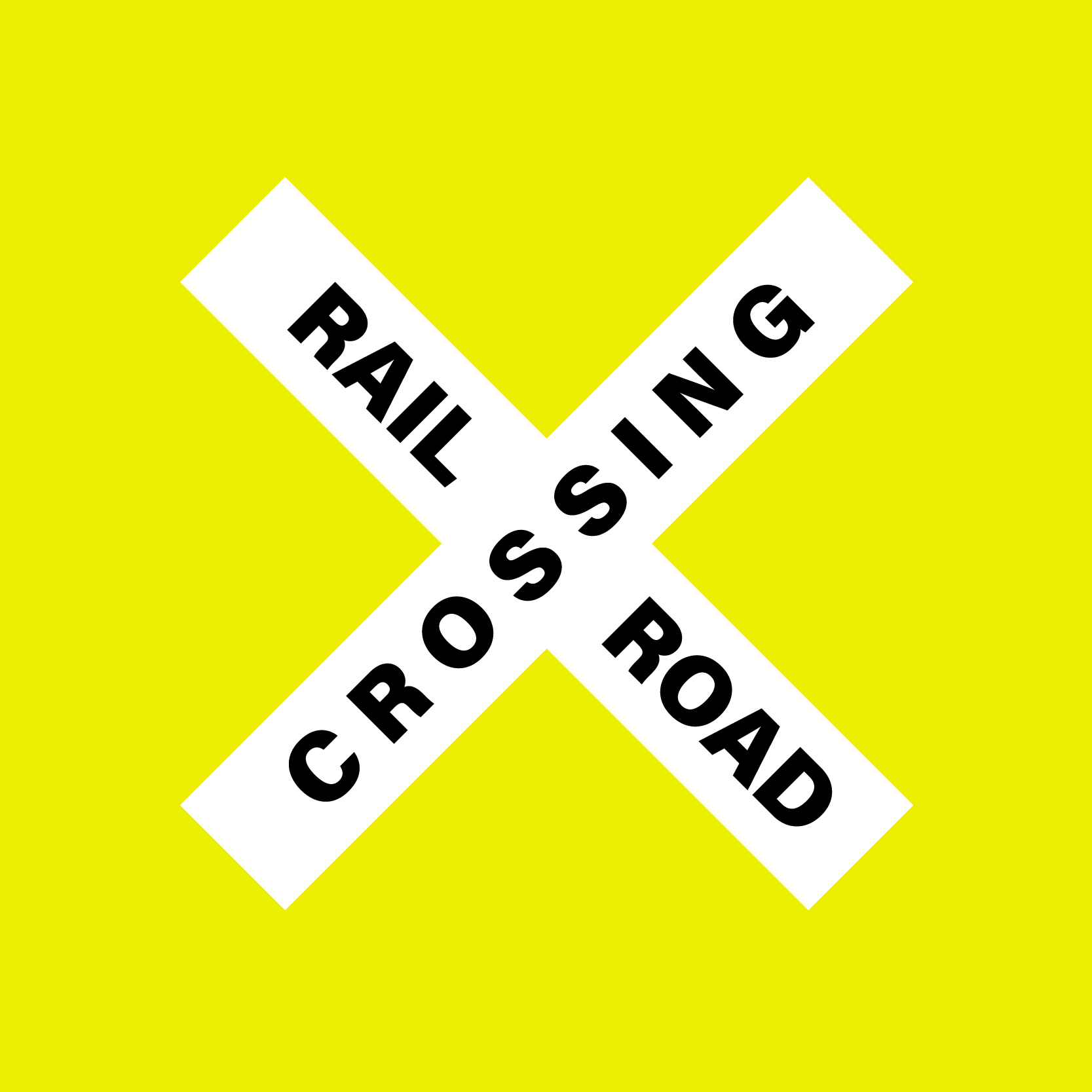 Improve pedestrian crossings at railroad tracks